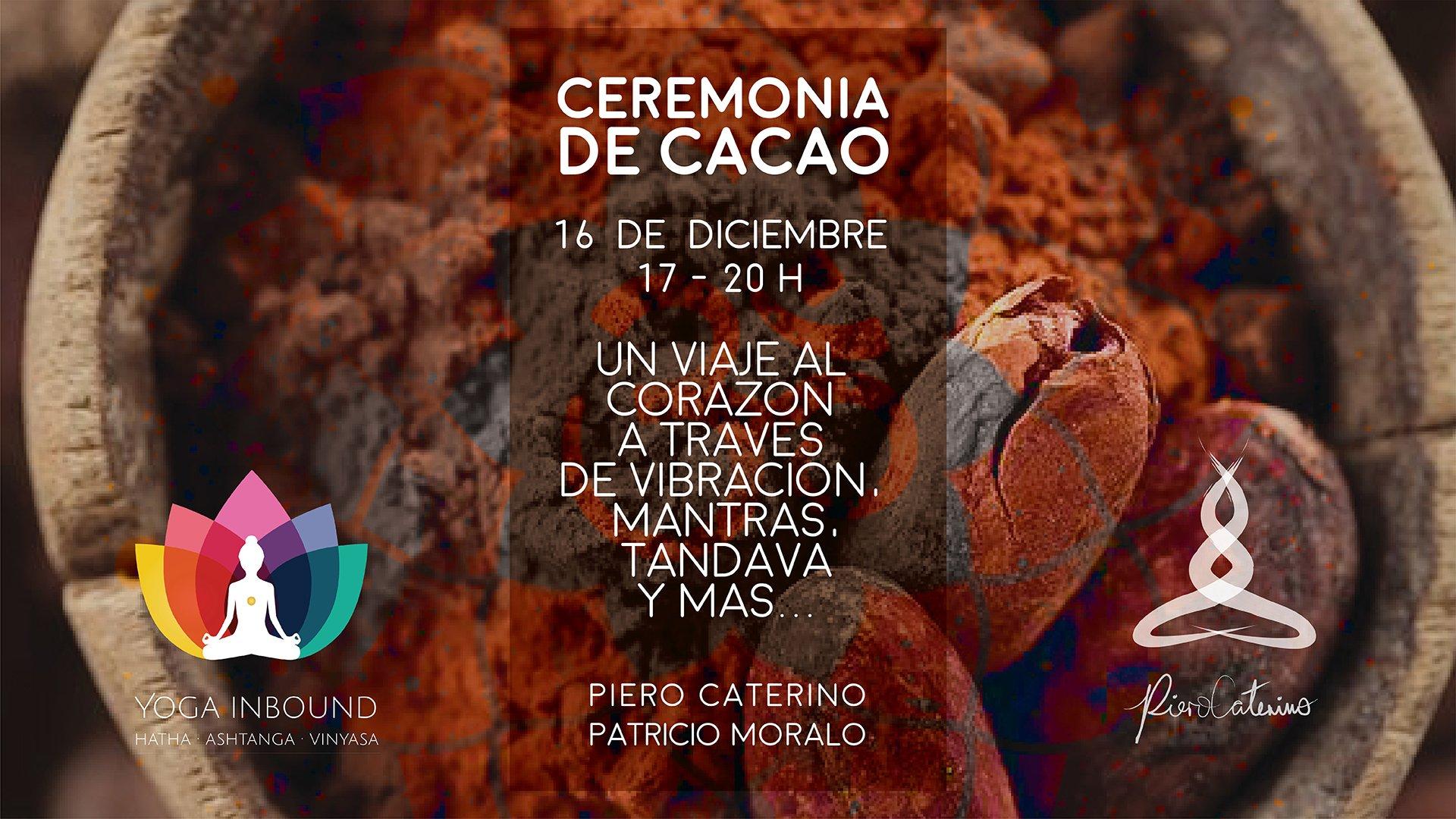 CEREMONIA DE CACAO CON TANDAVA