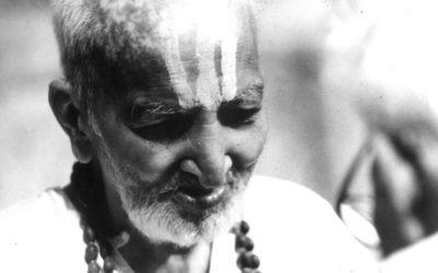 Sri Tirumalai Krishnamacharya, uno de los padres del Yoga Postural Moderno